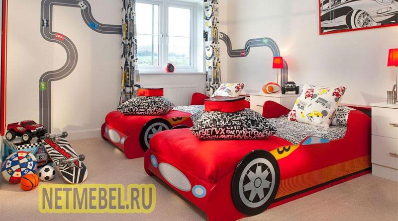 Оформление комнаты для двух мальчиков