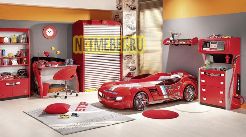 детская комната-гараж