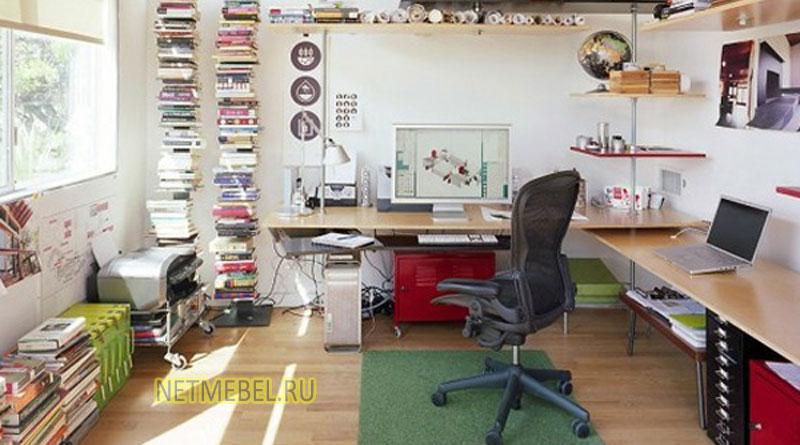 оформление домашнего офиса