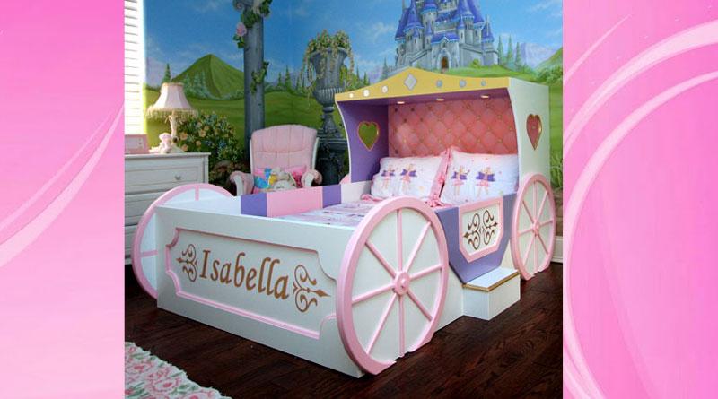кровать-карета для принцессы