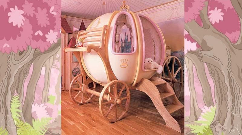 детская кровать-карета