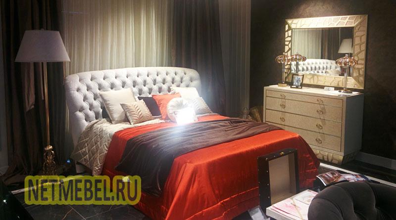 Двухспальная кровать в спальню